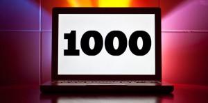 1000 Mitarbeiter